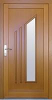 KAABA - dřevěné vchodové dveře