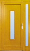 VERTICAL - dřevěné vchodové dveře