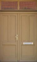 Dvoukřídlové dveře s nadvětlíkem