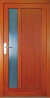 DAWO - dřevěné vchodové dveře