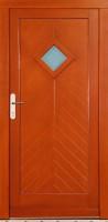 LEBON - dřevěné vchodové dveře