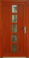 HORTEN - dřevěné vchodové dveře