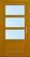 ALMAG - dřevěné vchodové dveře