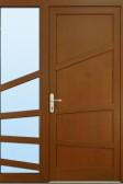 Vchodové dveře GRENADA s bočním světlíkem