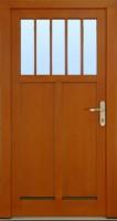VESTA 2010 - dřevěné vchodové dveře