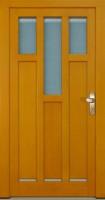 VISBY - dřevěné vchodové dveře