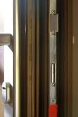 Dveřní zámek - střelka