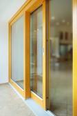 Dřevěný HS portal - vyzkoušet si ho můžete ve vzorkovně Slavonice