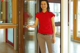 Balkonové dveře s nízkým prahem