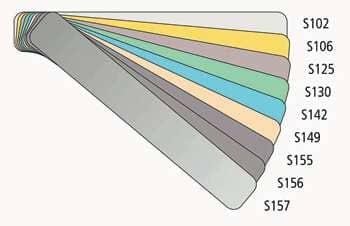 Výběr lamel integrované žaluzie Sreen Line