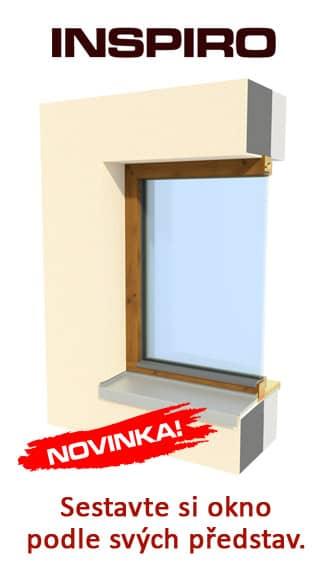 Designová dřevěná okna INSPIRO