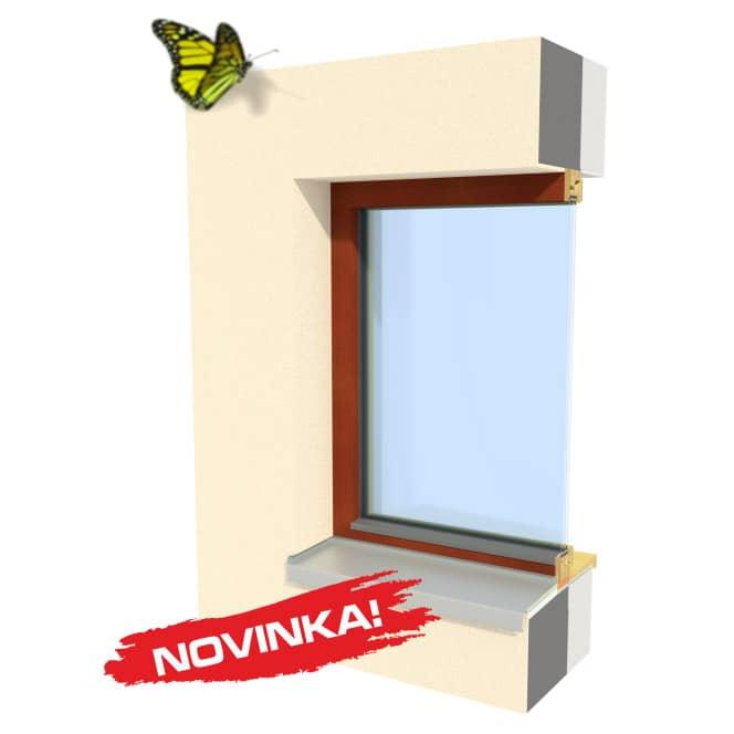 Dřevěné okno INSPIRO