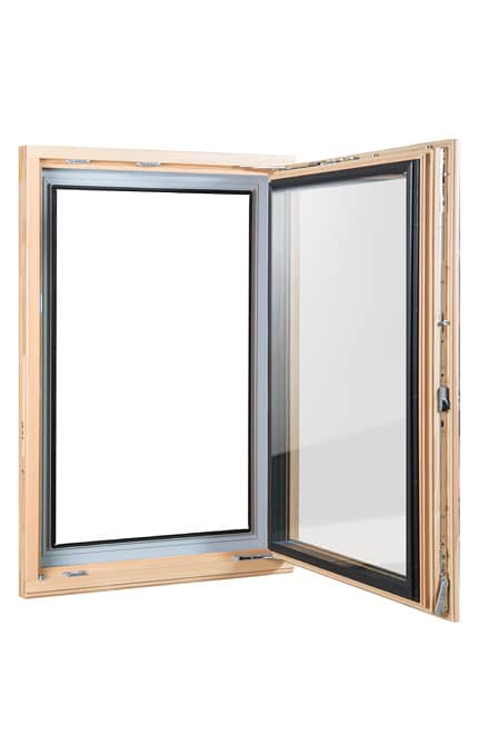 Dřevohliníkové okno Alpino