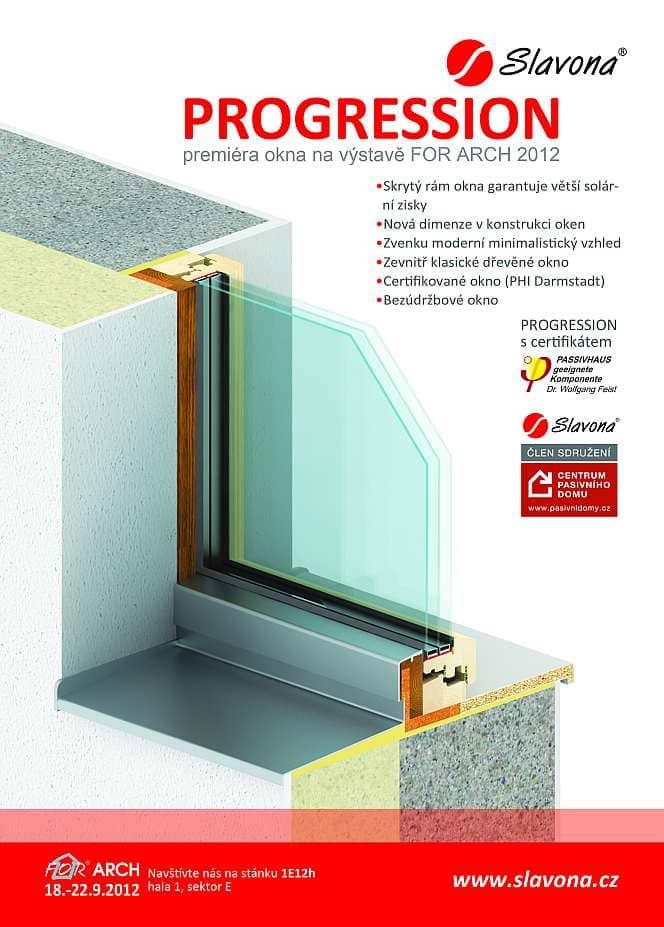 Nová okna PROGRESSION pro moderní pasivní domy