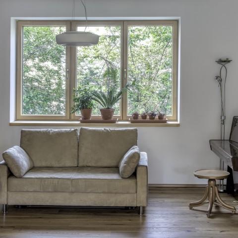 Jednoduché moderní tvary okna INSPIRO
