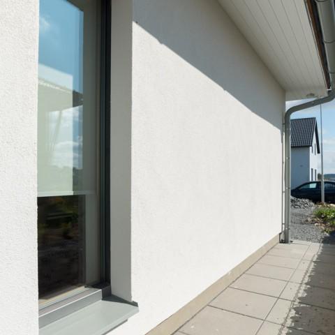 Okna PROGRESSION jsou zcela skrytě vsazena do fasády