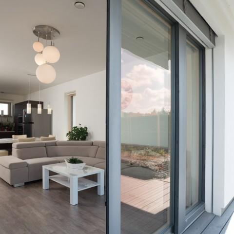 Maximální otevření balkonových dveří