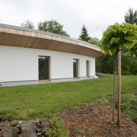 Pasivní dům v Brně - vějíř