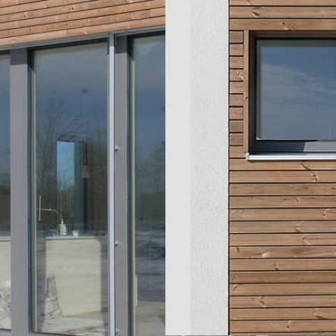Minimalistický vzhled oken - bezrámové zasklení