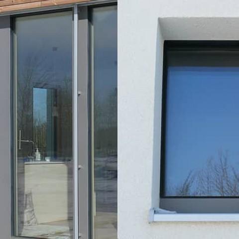 Okna PROGRESSION jsou překrytá fasádou