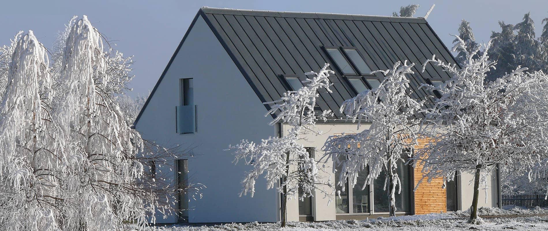 Dům FACE v Maršově u Telče s okny PROGRESSION