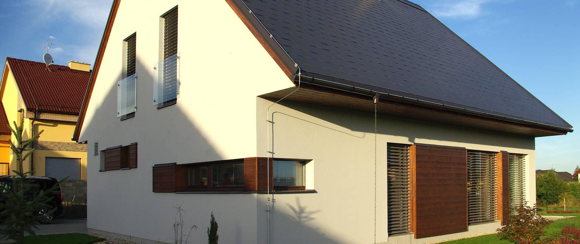 Dům zalitý sluncem