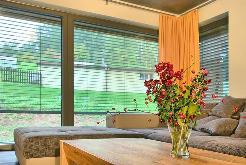 Dřevěná okna PROGRESSION v pasivním domě