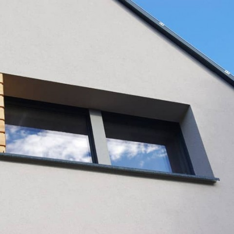 Bezrámové okno PROGRESSION ve fasádě