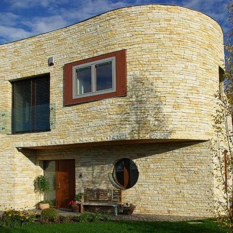 Nízkoenergetický kamenný dům