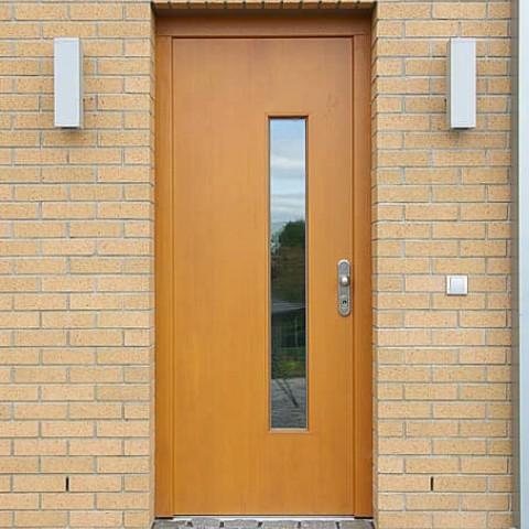 Dřevěné vchodové dveře JESEN