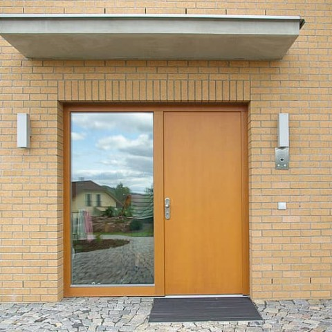 Vchodové dveře meranti, konstrukce TREND