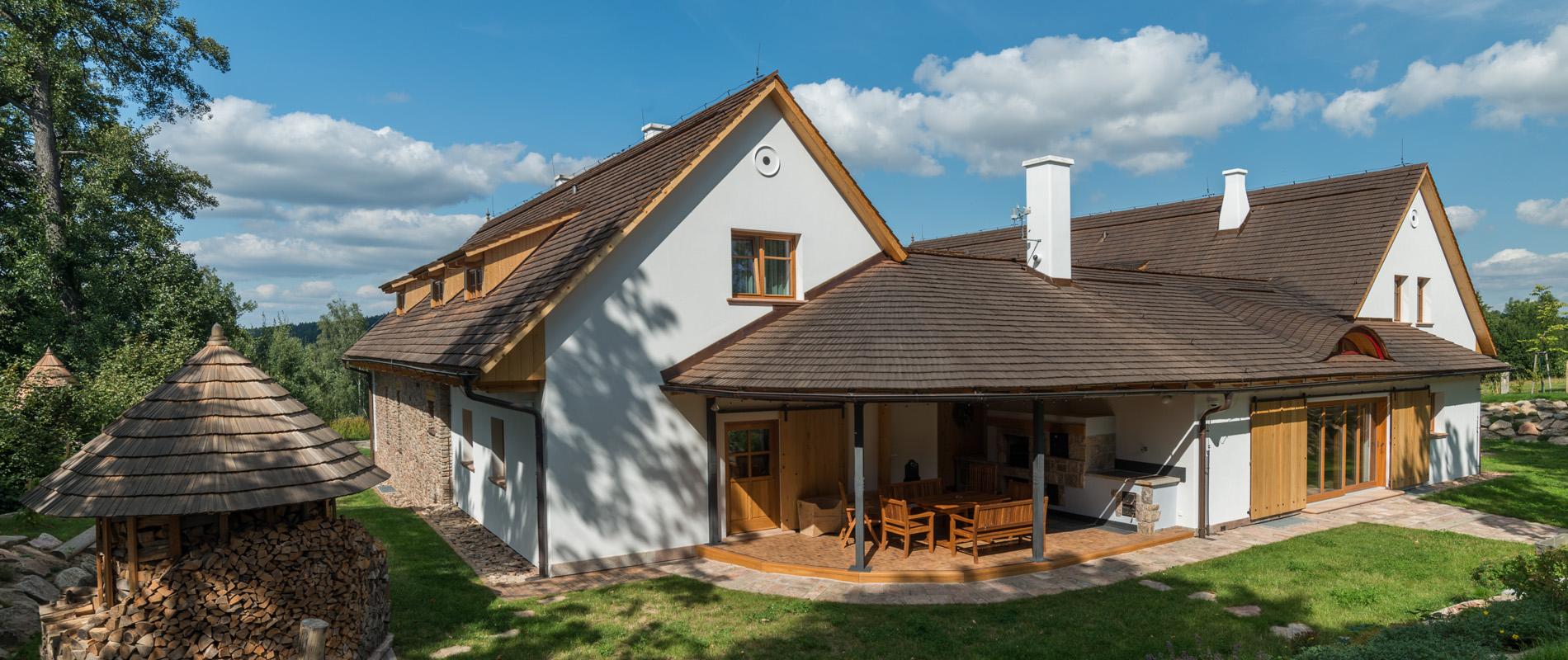 Dům ve venkovském stylu