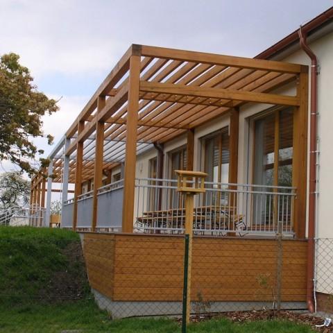 Pasivní mateřská školka MB s okny SC92 Slavona