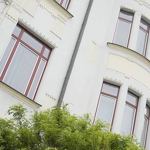 Rekonstruovaná historická budova ASTRID
